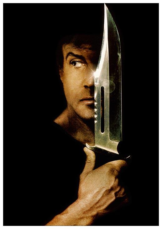 Портретный постер Rambo / Рэмбо